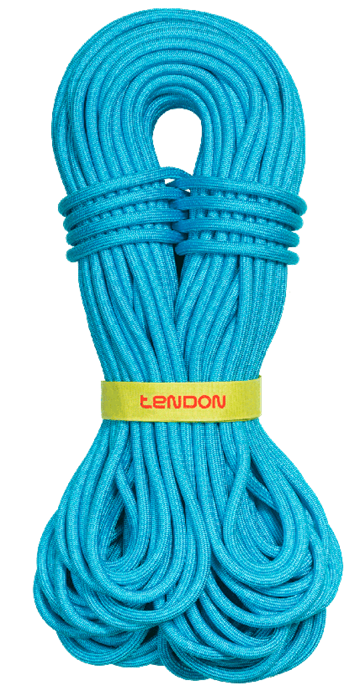 TENDON MASTER PRO 9.2 - TURQUOISE  Complete shield UIAA water rep.  1 m.