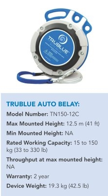 TRUEBLUE AUTO BELAY